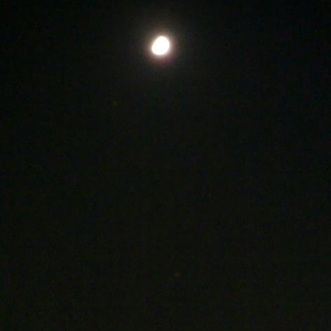 月、土星、火星の接近
