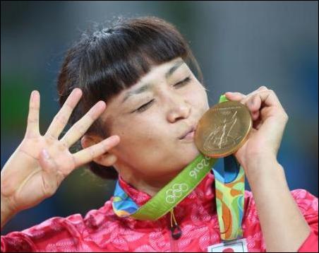 女子レスリング伊調馨選手